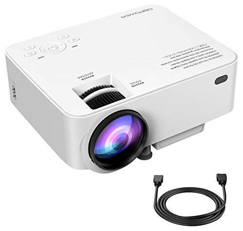 DBPOWER T20 LCD Mini Movie Projector, Multimedia Home Theater Video ...